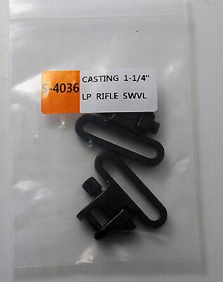 """Rifle Sling Swivels 1.25/"""" Swivel Set a F01 Heavy Duty 300 lbs Quick Detach"""