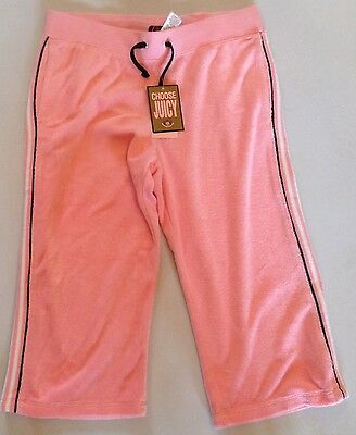 Girls Juicy Couture Towelling Varsity Crop Tracksuit Age 14 Rrp£175 Now£40.50 3