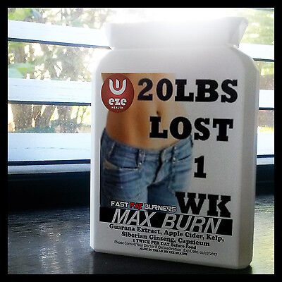 Very Strong  Weight Loss Pills  60 +30 Free 90 Fat Burners  Diet Slimming 4