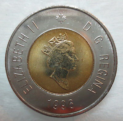 1996 Canada Toonie Brilliant Uncirculated Two Dollar Coin