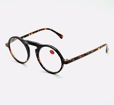 nuovo stile e08c1 f18ec OCCHIALI DA LETTURA da Vista Tondi uomo donna Old Fashion Retro Vintage  Trendy