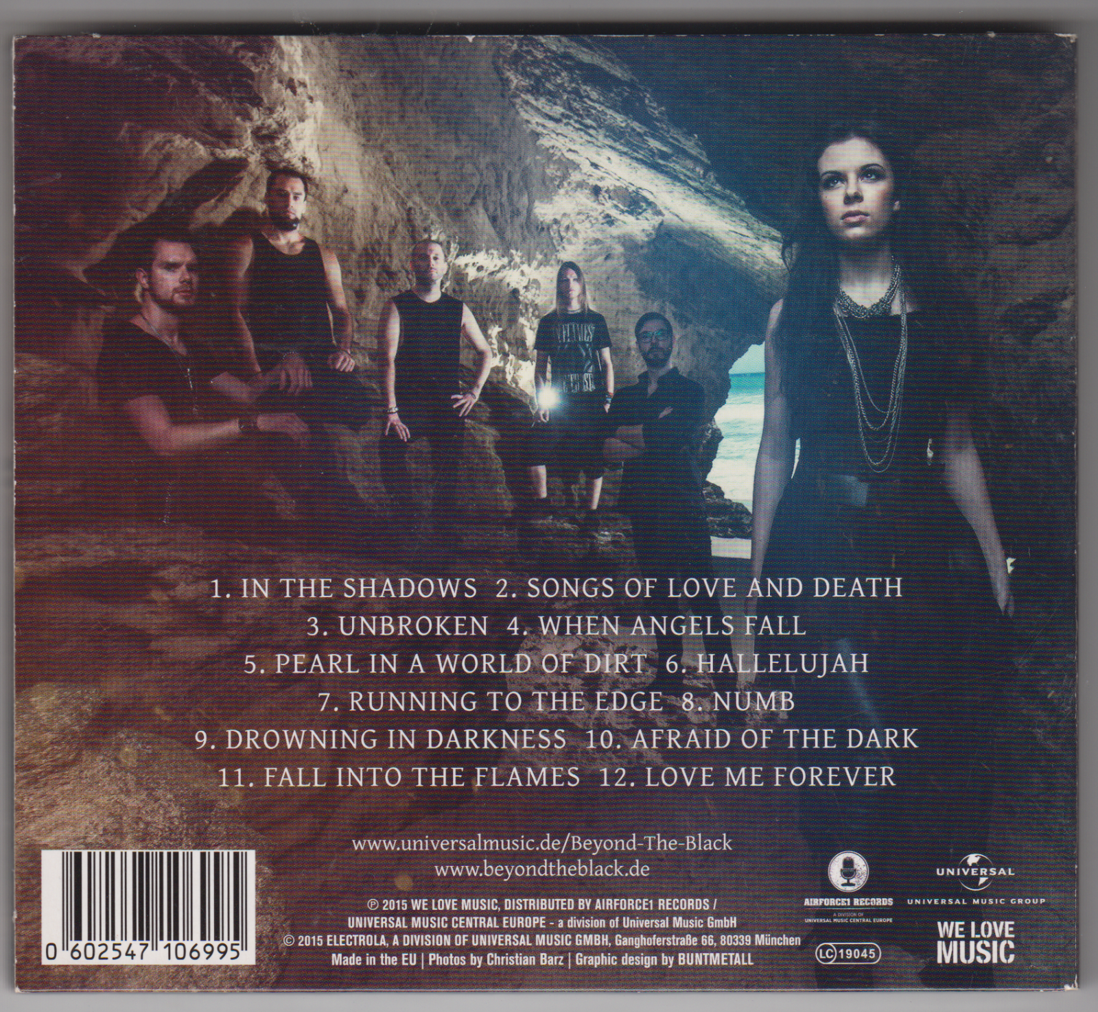 Songs Of Love And Death  (Ltd. Digipack Edt.) von Beyond The Black 2