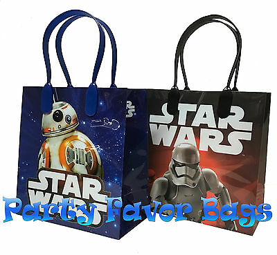 12 Pc Star Wars Party Favor Bags Storm Toopers Candy Treat Birthday Toy Gift Bag 2