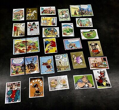 Stickers Panini Asterix Carrefour 2019 Lot de 10 cartes au choix Autocollant 60a 8