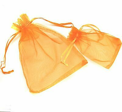 100 Luxury Organza Gift Bags Wedding Favour Chrisamas Jewellery Candy Pouches 9