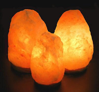 Salzlampe ab 3 Kg - 120 Kg Salzleuchte Salzkristall Indusal Premiumqualität 3