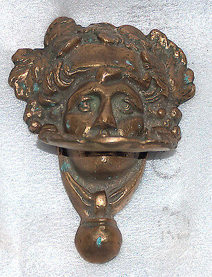 Antique Vintage Bronze Door Knocker 2 • CAD $255.14