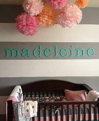 5 of 11 12 inch painted wood letters wooden letters wall letters also custom sizes