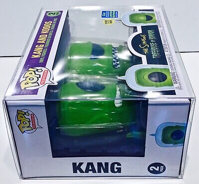 1 Box Protector For Funko Pop! KANG AND KODOS SIMPSONS 2 pack! New Display Cases 7