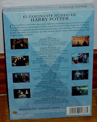 Harry Potter La Coleccion Completa 8 Dvd Precintado Nuevo Fantasia (Sin Abrir) 2