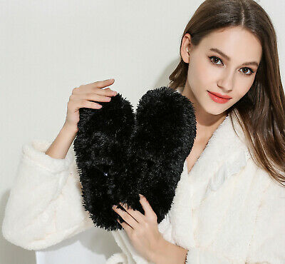 Fuzzy Winter Slippers for Women, Plush Moccasin Slippers 8