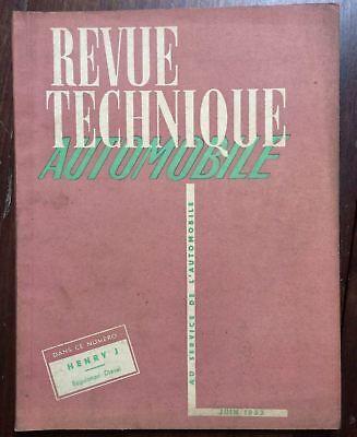 ► Revue Technique - Kaiser Henry J - 1953 2