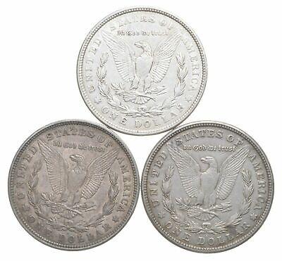 (1) Coin  $1 CULL 1921 Morgan US Silver Dollars Eagle Reverse 90% from Bulk Lot 2