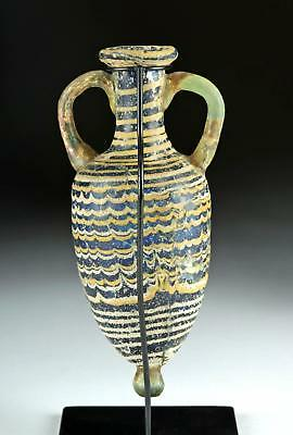 Hellenistic Greek Core Form Glass Amphoriskos Lot 32