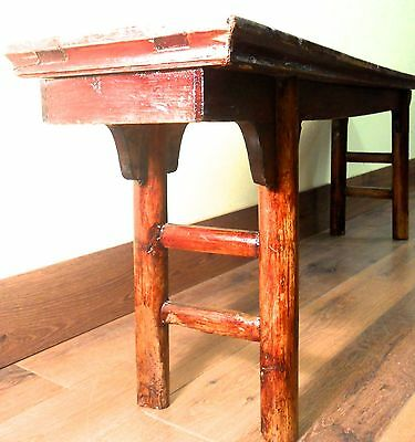 Antique Chinese Ming Bench (3273), Cypress Wood, Circa 1800-1849 10