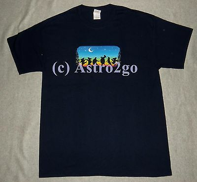 ed34fd5e083 ... MOONDANCE-Grateful Dead   Co. Night Animals Crow Terrapin Dancing Bears  T shirt 2