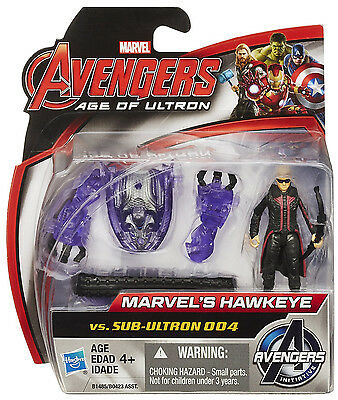Marvel Avengers Age Of Ultron Hawkeye Vs. Sub-Ultron 004 2-Pack 2