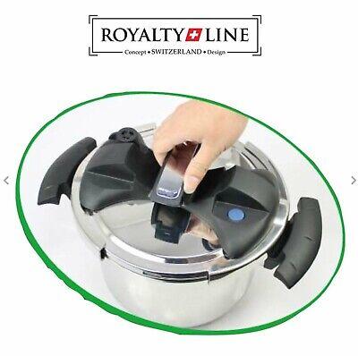 Pentola a Pressione Royalty Line 8 Litri  Induzione Acciaio  inox 2