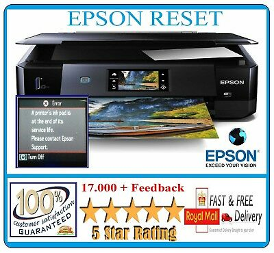 EPSON STYLUS PHOTO Printer Waste Ink Pad Counter Reset Service Download