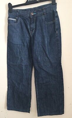 Ted Baker Boys Blue Denim  Trousers Jeans Age-old 13years 2