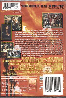 FUGA DA LOS ANGELES (kurt Russel) - DVD NUOVO E SIGILLATO, PRIMA STAMPA 2