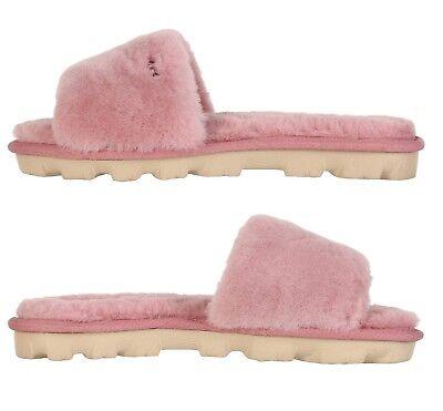 88304f43d5d UGG SOFT COZETTE Slide Slippers Women's Cozy Shoes Black Oyester Pink  Natural