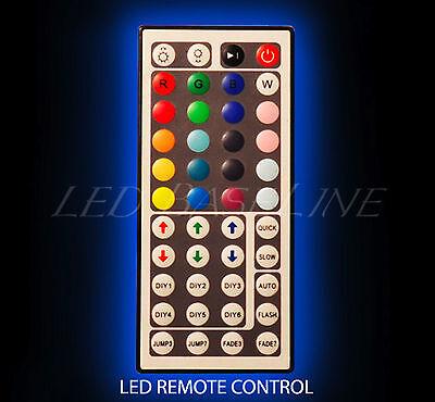 "60"" 4 Tier LED Lighted  Liquor Display Shelf - White Finish 2"