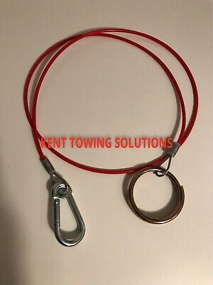 New Maypole Breakaway Cable for Trailer Caravan Tow Bar 1 Meter Diameter MP498 ! 4