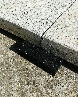 Terrassenpads 100x100x10mm 50 St 34,00€//m² Terrassen Pad Gummigranulat