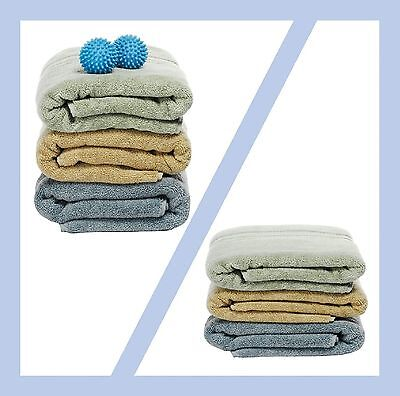 Dryer Balls 4 Pack Blue Reusable Dryer Balls Replace Laundry Drying Fabric Us 2