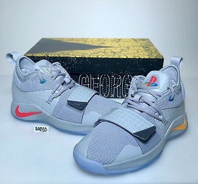 d3107227b557 ... Nike PG 2.5 PlayStation Paul George PS4 Classic Wolf Grey Mens   Kids GS  Gray 10