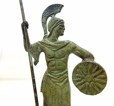 Ancient Greek Bronze Museum Statue Replica Of Alexander the Great Macedonian 3