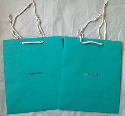 3a146d7d14 ... New Lot 3 3 of 4 10 Authentic Tiffany & Co Blue Shopping Medium Gift  Bags 9.75