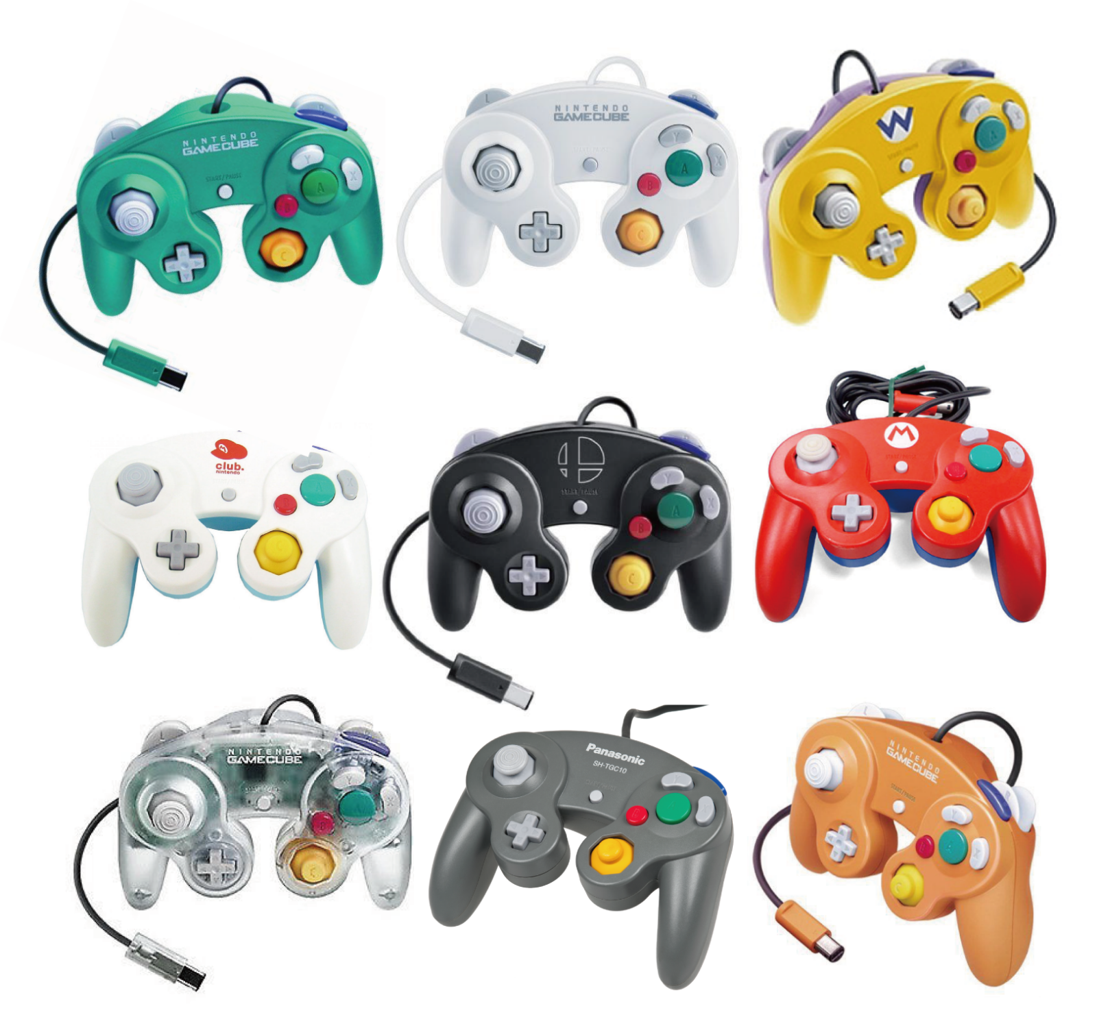 【30 variations】Nintendo Official GameCube controller Various colors 3