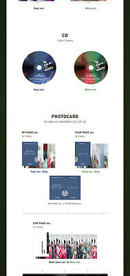 DAY6 THE BOOK OF US:GRAVITY Mini Album CD+POSTER+Book+3Card+Mark+Pre-Order+GIFT 7