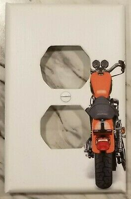 Red Motorcycle/Rear View - Outlet Cover - FREE Shipping 2