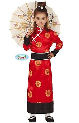 Childs Girls Chinese Fancy Dress Costume Kids China Girl Oriental Outfit fg 3