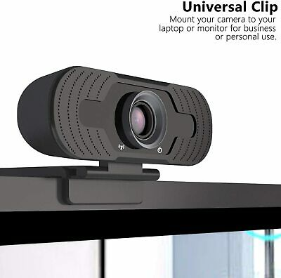Full HD 1080P Webcam With Microphone USB For PC Desktop Laptop NEW UK Stock 4