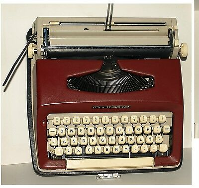 Maquina de escribir Maritsa 12 2