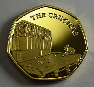 Pair of THE CRUCIBLE Commemoratives. 24ct Gold. Silver. Albums/Filler 2019 7