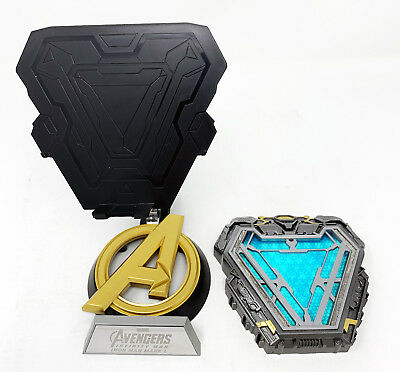 Marvel Licensed Avengers Infinity War Iron Man MARK L Arc Reactor Prop Replica