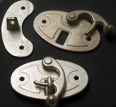 ORIGINELL Riegelverschluss NEU Taschenverschluss OVAL Hakenverschluss VERSCHLUSS