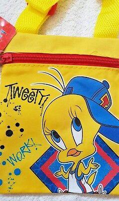 Tweetty Titti Looney Tunes Tracolla Gialla - 17x14cm - Joko - Nuova 2