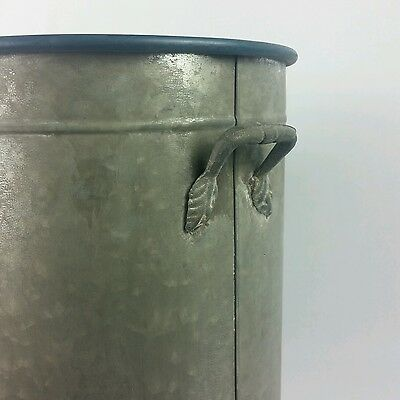 Antique Style Metal Bucket with Handles 4