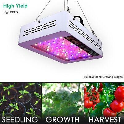 Mars 300W LED Grow Light Kit Hydro Plant Veg Flower Lamp Full Spectrum for Plant