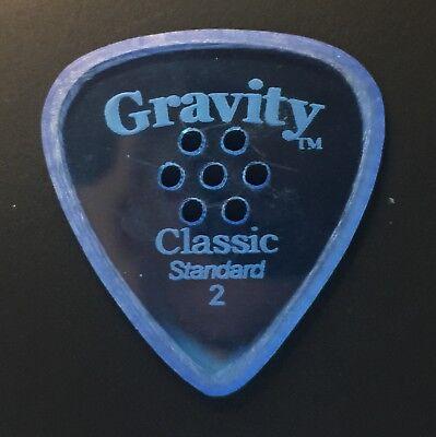 Gravity Picks Europe Classic Razer Sunrise Plectrum 10