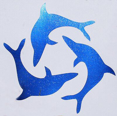 Blue Foil - Laser Printer Heat Transfer Foil 15cm x 3m Metallic 2