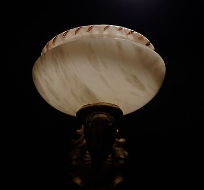 Alabaster wall lights sconces solid bronze by europeanlighting 5