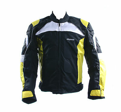 3737 Rksports Motorbike Motorcycle  Jacket Black Grey Red Blue Yellow Green