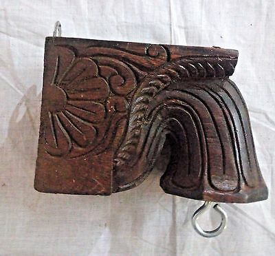 Wooden Corbel Bracket Pair Wall Hanging used for hanging lamp Home Decor Diwali 4